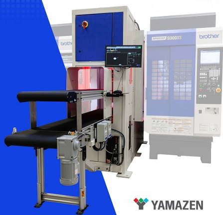 New! An Integral Solution for Machining Process Automation with YAMAZEN!
