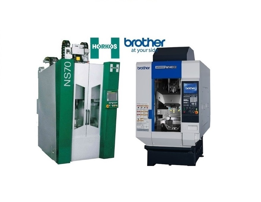 MACHINING & TURNING IN ONE PROCESS: BROTHER AND HORKOS CNC's