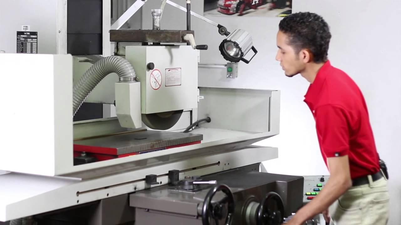 Rectificadora de superficies; ¿cómo funciona?