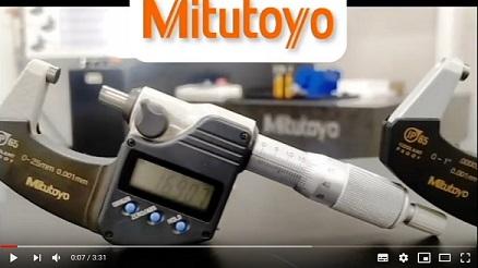 Diferentes velocidades de medición en micrómetros Mitutoyo