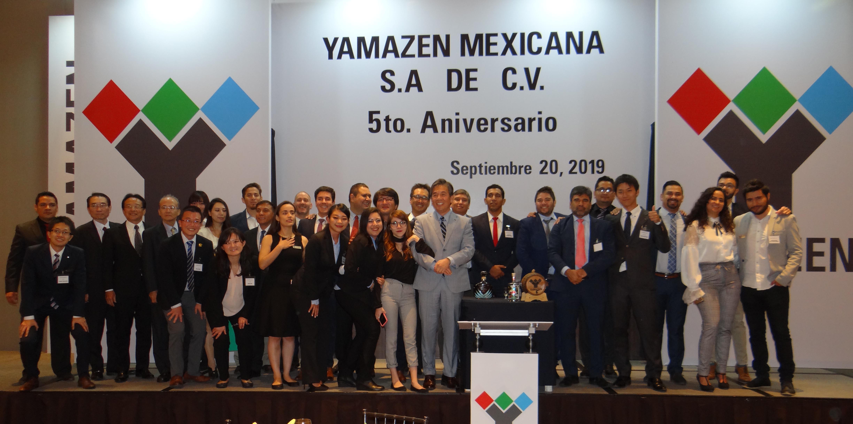 En Yamazen Mexicana celebramos nuestro 5to. aniversario