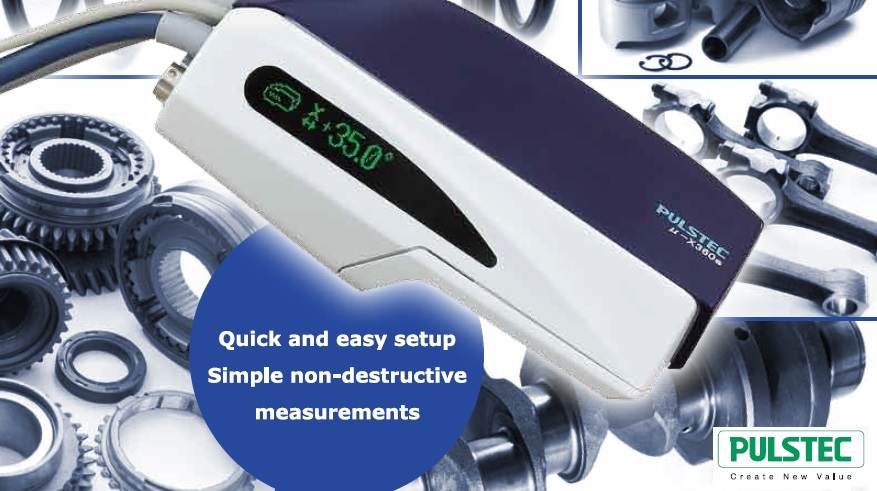 NEW! Portable X-Ray Residual Stress Analyzer by Pulstec