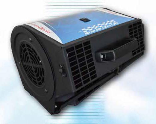 Sistema de ventilación 'Windbag'