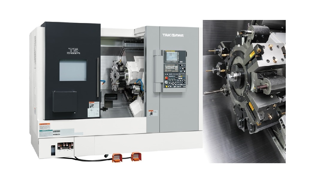 TAKISAWA Lathes: Main models and characteristics.