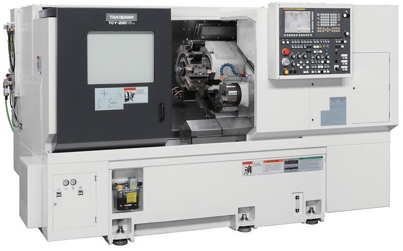 TCY - TS SERIES / OPPOSING TWIN-SPINDLE 1 TURRET